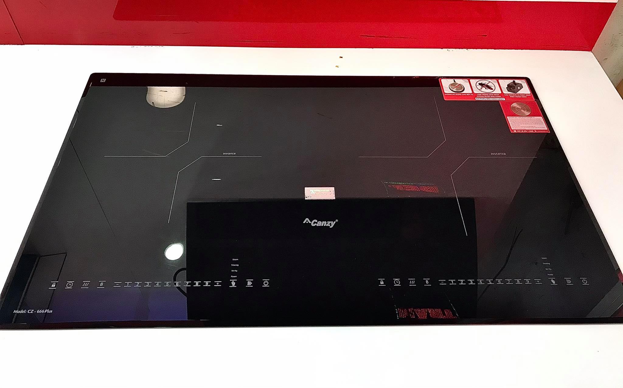 Bếp từ Canzy CZ-666Plus chính hãng, bảo hành 05 năm tại nhà