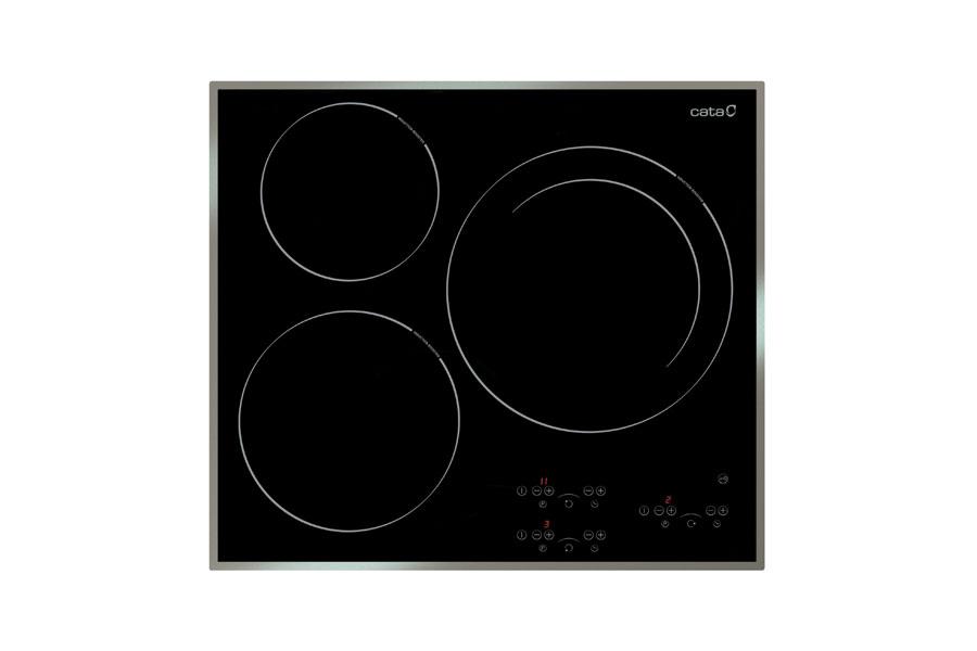 Bếp từ Cata IB 633X nhập khẩu chính hãng 3 vùng nấu từ
