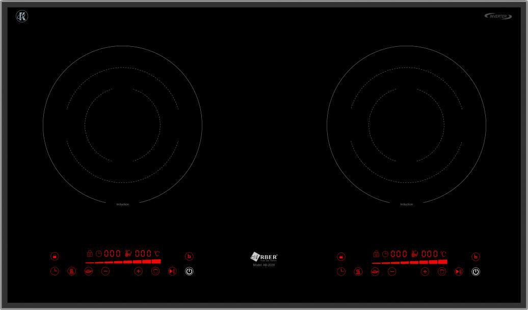 Bếp từ Arber AB-2020, mẫu bếp từ giá rẻ công nghệ mới nhất