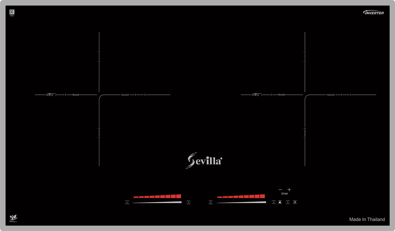 Bếp từ sevilla SV - T11 chính hãng tạo Bếp Hoàng Gia