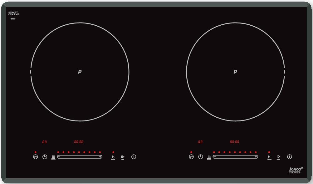 Bếp từ Lorca LCI 877 công nghệ Đức an toàn, tiết kiệm điện