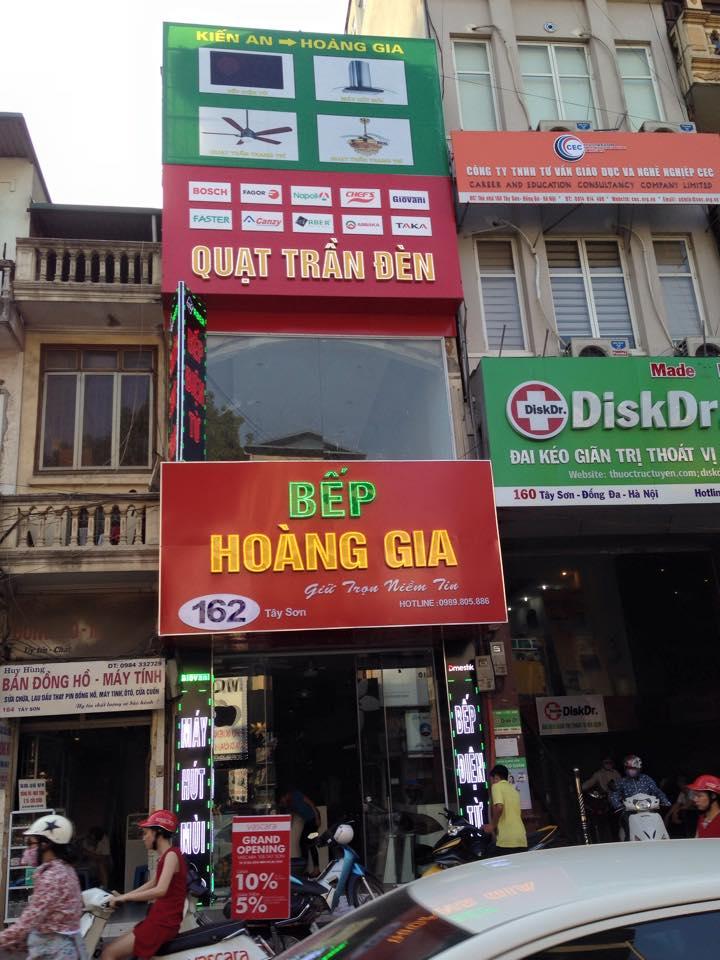 Địa chỉ mua bếp từ uy tín tại Hà Nội