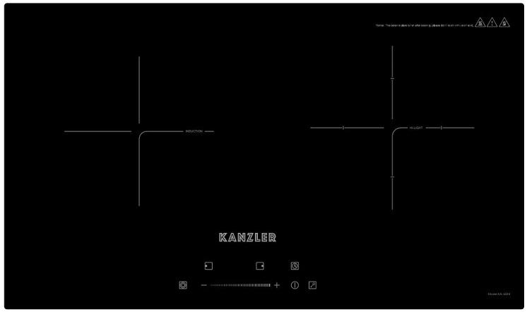 Bếp điện từ Kanzler KA-68IH chính hãng | Bếp Hoàng Gia