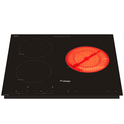 Bếp điện từ Canzy CZ 3GH ba vùng nấu đa năng