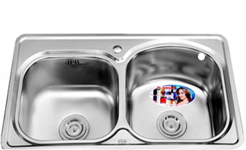 Chậu rửa bát Sơn Hà SH 2H 800