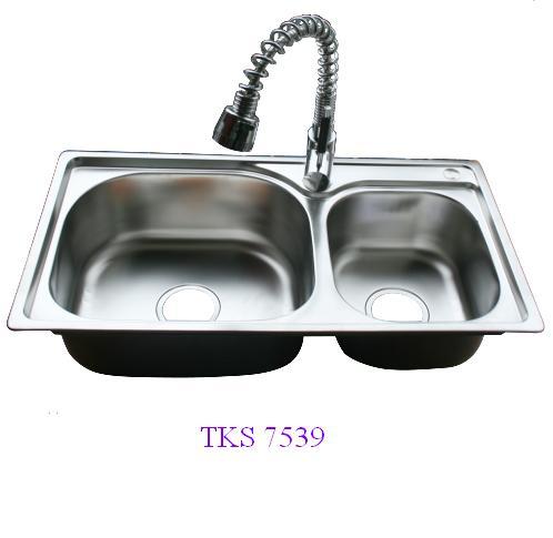 Chậu rửa bát TKS-7539-giá rẻ bất ngờ