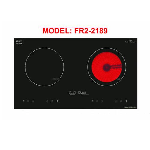 Bếp điện từ Faro FR2-2189 dòng chất lượng cao