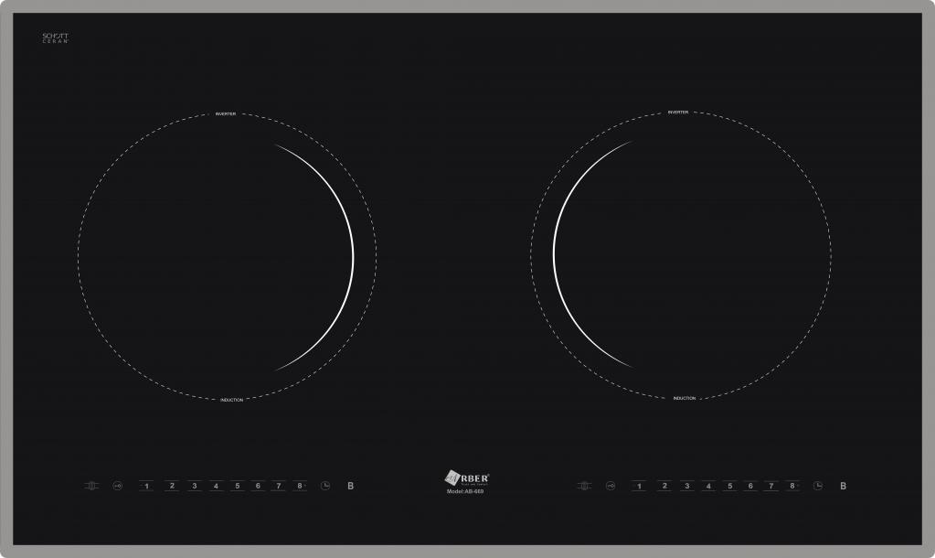 Bếp từ Arber AB- 669 thiết kế Bếp từ nhập khẩu thông minh