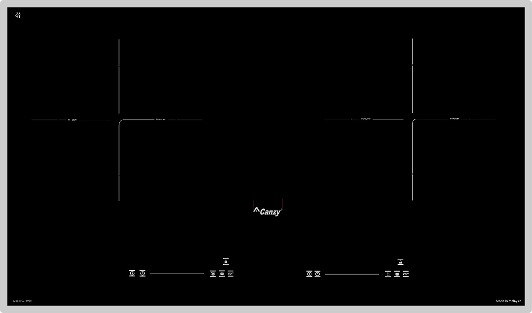 Bếp điện từ Canzy CZ-898IH chính hãng| Bếp Hoàng Gia