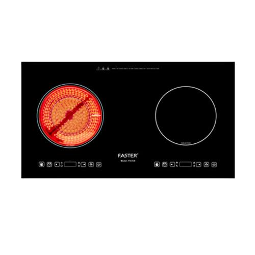 Bếp điện từ faster FS 2CE sở hữu thiết kế thông minh