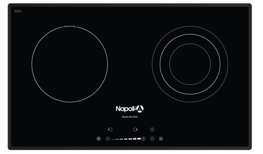 Bếp điện từ Napollia NA-ICD02 giảm giá lớn tại Hà Nội