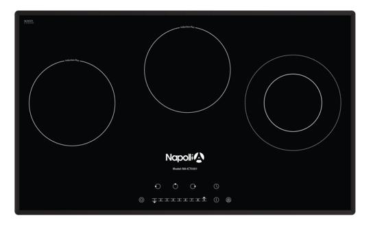 Bếp điện từ Napollia NA-ICT301 nấu ăn nhanh tiết kiệm