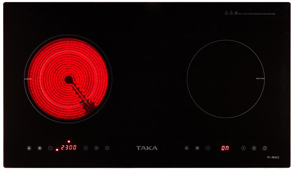 Bếp điện từ Taka TK-IR02C2 cam kết hàng chính hãng