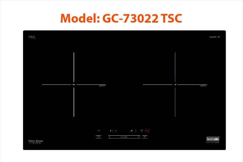BẾP TỪ GIOVANI GC-73022 TSC nhập khẩu nguyên chiếc từ Đức