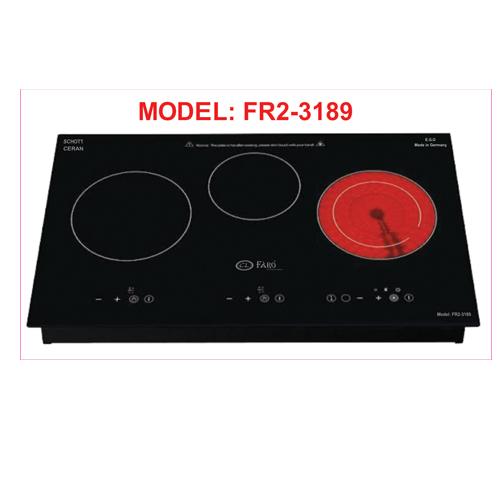 Bếp điện từ Faro FR2-3189 - tiết kiệm điện năng