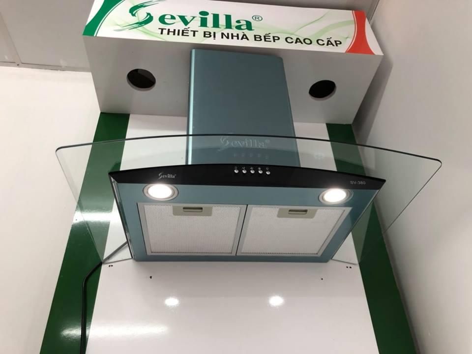 Máy hút mùi Sevilla SV-380 - Luxury  chính hãng | Bếp Hoàng Gia