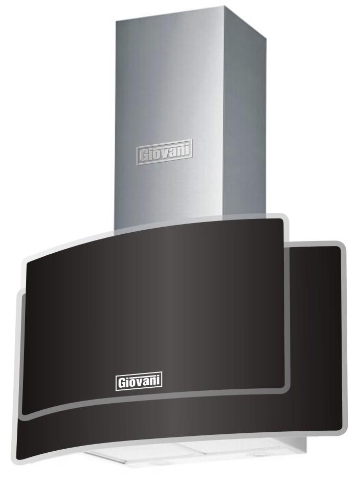Máy hút mùi Giovani G-725 BG công nghệ vượt trội