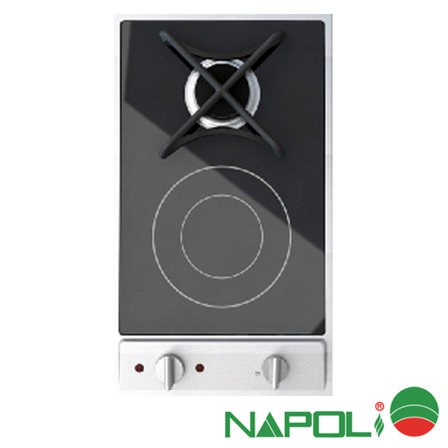 Bếp ga từ Napoli CA-108Q2 là dòng Bếp kết hợp điện từ