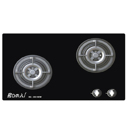 Bếp gas âm Romal RG-203 Newb giá tốt nhất tại Bếp hoàng gia