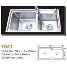 Chậu rửa bát AMTS 7641-đảm bảo chất lượng