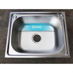 Chậu rửa bát 1 hố inox 304 KOREA 5040( kobe)